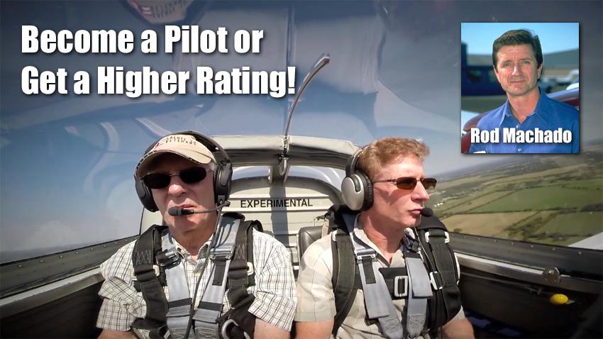 Rod Machado Flight Instruction Video and Courses