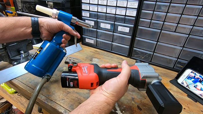 Pop Riveting - Getting the Right Tools - Manual VS Pneumatic VS Cordless