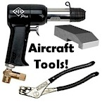 Aircraft tools and instruction books.