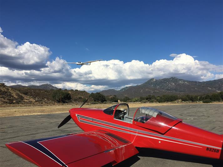 RV-6 to get me to soaring site!