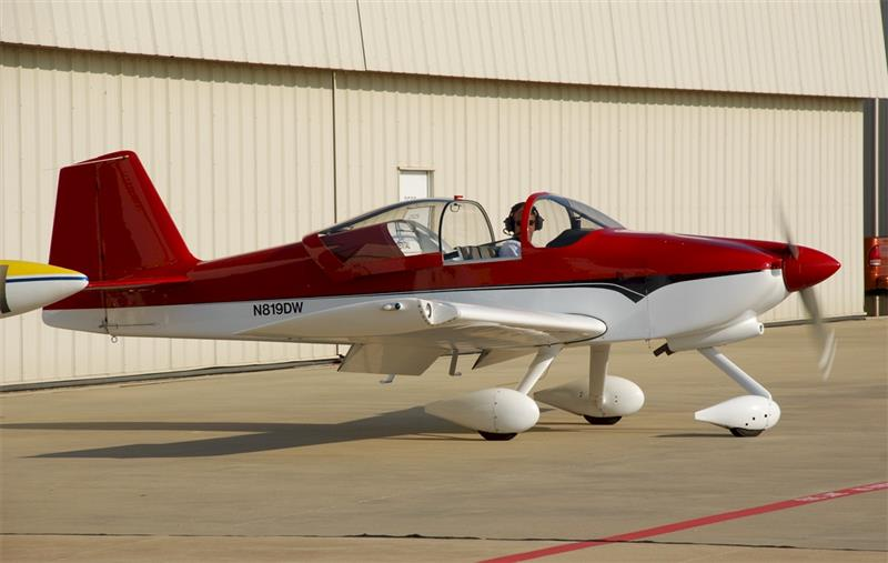 RV-6A Red and White