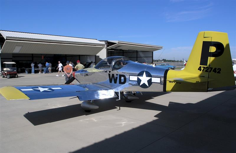 RV-7A at a fly-in fish fry