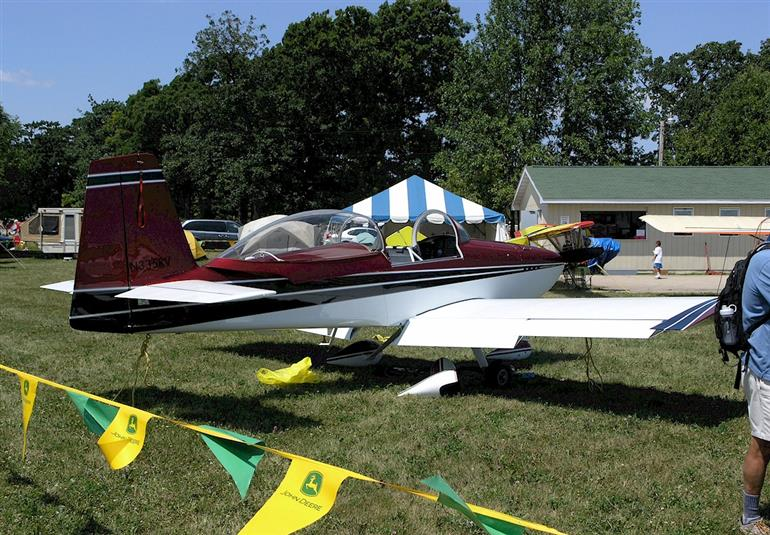 RV-8A at AirVenture